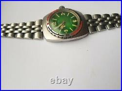Vostok Amphibian 1967 green barrel 2209