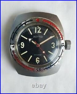Watch Vostok Barrel NVCh 30 ATM 300M Amphibian 2209 USSR Vintage Soviet Rare