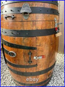 Whisky Barrel BBQ and cold / hot Smoker
