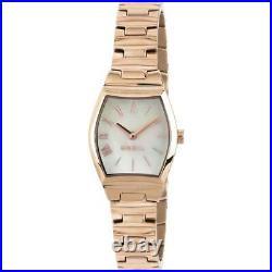 Womens Wristwatch BREIL BARRELL TW1655 Stainless Steel Gold Rose