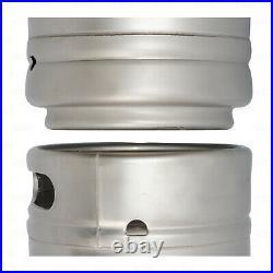 (X4) 1/6 Barrel Stainless Steel 5.16 Gallon Beer Kegs Sankey D Spears Sixtel
